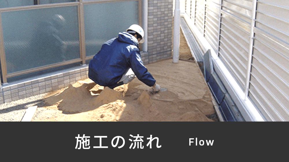 バナー画像:施工の流れ